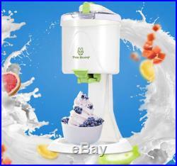 1000ml 220V Automatic Household Mini Electric Soft Ice Cream Making Machine New