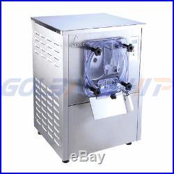 110V 220V Commercial Hard Ice Cream Machine 20L/h Frozen Ice Cream Machine Maker