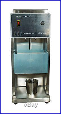 110V Commercial Electric Auto Blizzard Ice Cream Machine Maker Shaker Blender