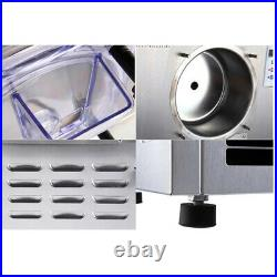 110V Commercial Frozen Hard Ice Cream Machine Ice Cream Mixer Maker 12-20L/H