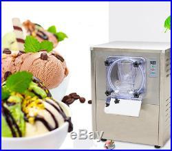 110V Commercial Hard Ice Cream Machine 20L/h Frozen Ice Cream Machine Maker USA