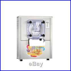 110V Commercial Hard Ice Cream Machine 20L/h Stainless Steel Ice Cream Maker USA