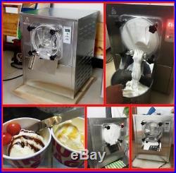 110V Commercial Hard Ice Cream machine Frozen Ice Cream Maker12-20L/H USED