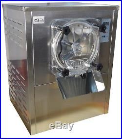 110V Commercial Hard Ice Cream machine Frozen Ice Cream Maker Mixer 12-20L/H New