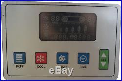 110V Commercial Soft Serve Ice Cream Freezer Machine 3 Flavor 20-30L/H