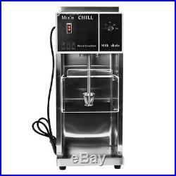 110V Electric Auto Ice Cream Machine Maker Shaker Blender Mixer Blizzard