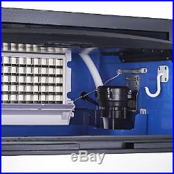 120KG Commercial Ice Maker Machine 265Lbs /24Hrs Air Cooled Cube Stainless Steel