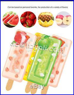 120pcs/h 40pcs/Set mold Commercial Ice Cream Maker Popsicle Ice Cream Machine