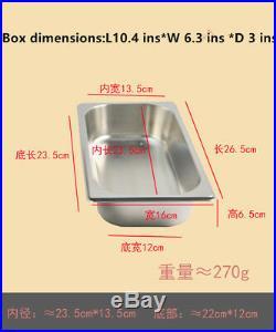 12 pan Gelato Ice Cream Dipping Cabinet Freezer Display Cases chest free F10