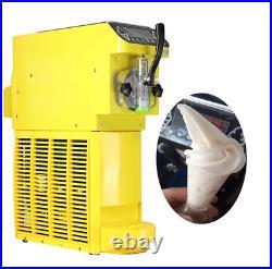 18L/hr Automatic Soft Ice Cream Machine One-head Ice Cream Maker 110v or 220v y