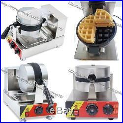 19.7 Electric Fried Rolled Ice Cream Yogurt Roll Machine + Belgian Waffle Maker