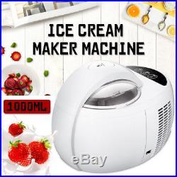 1L Automatic Ice Cream Cones Maker Machine Soft & Hard Adjustable Home 220V