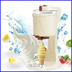 1L Fruit Ice Cream Maker Home Soft Serve Frozen Dessert Machine Fast Freezing