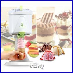 1L Ice Cream Maker Kids Home Soft Serve Frozen Dessert Machine Fast Freezing