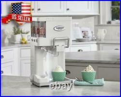 1.5 Qt. Automatic Ice Cream Maker Soft Serve Yogurt Freezer Machine Home Made
