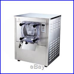 1 Flavor Commercial Frozen Hard Ice Cream Machine Maker 20L/H Stainless Steel