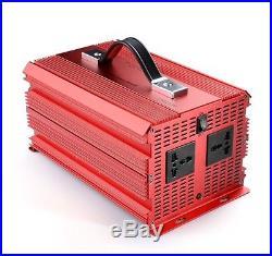 2000With4600W Peak POWER INVERTER DC12V-AC240V Ice Cream Slush Machine