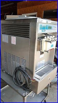 2001 Taylor 337 Cart Soft Serve Ice Cream Frozen Yogurt Machine Warranty 3Ph Air