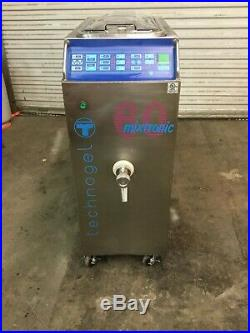 2002 Technogel Mixtronic 60 Pasteurizer for gelato and ice cream base