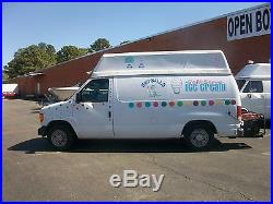 2004 ford E-150 soft serve ice cream and shaved ice truck (price reduced)