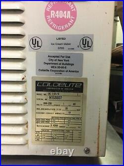 2008 Coldelite UC1131 /G Soft Serve Ice Cream Frozen Yogurt Machine