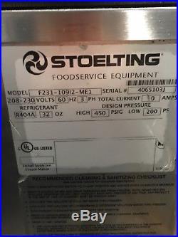 2011 Stoelting F231 Soft Serve Frozen Yogurt Twin Twist Ice Cream Machine