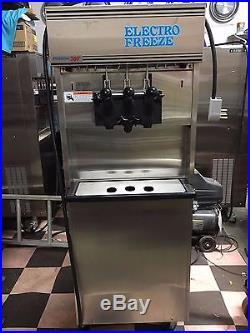 2012 Electro Freeze 180T-RMT Soft Serve Ice Cream Frozen Yogurt Machine