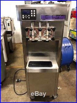 2012 Stoelting F231 Soft Serve Frozen Yogurt Twin Twist Ice Cream Machine
