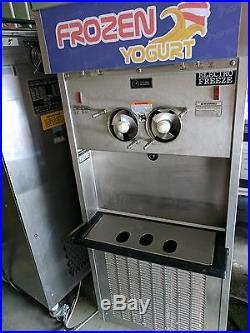 2013 Electro Freeze Sl500 Frozen Yogurt Soft Serve Ice Cream Machine