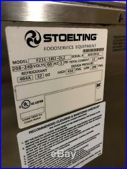 2013 Stoelting F231 Soft Serve Frozen Yogurt Single Phase Ice Cream Machine