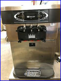 2014 Taylor C723 Soft Serve Frozen Yogurt Twin Twist Ice Cream Machine AIR COOL