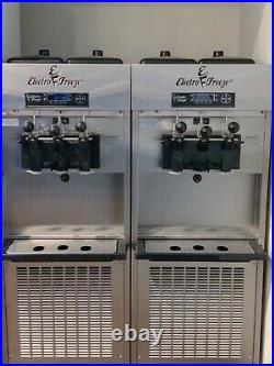 2016 Electro Freeze Slx400e Soft Serve Ice Cream Yogurt Custard Machine