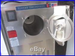 2016 Emery Thompson 24NW-IOC 24 Qt. Water-Cooled Batch Freezer RTR# 8011795-01