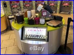 2016 Menchies Frozen Yogurt/Ice Cream Equipment Pkg. Paid $117K. Beautiful