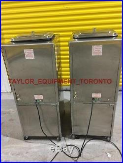 2017 Taylor 1PH 161-27 Frozen yogurt soft Serve Ice Cream Machine water cooled