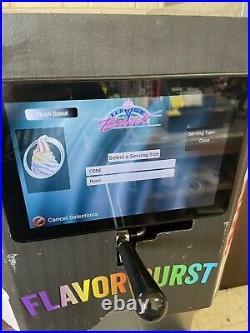 2017 taylor soft serve ice cream machine With Flavor Burst Machine With 8Flavors