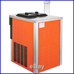 20-28L/H Commercial Soft Ice Cream Machine YKF-826T 5.3-7.4 Gal/H 7L2 Hoppers