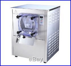 220V Commercial Hard Ice Cream Machine Frozen Ice Cream Maker 20L/h