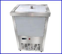 220V Commercial Ice Cream Stick Ice Lolly Machine Popsicle Maker, 40pcs/set Mold