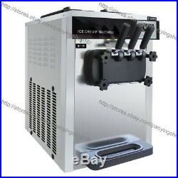 22L 3 Flavor Soft Serve Ice Cream Machine