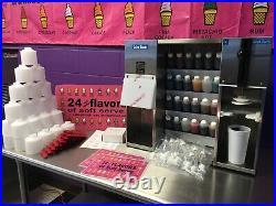 24 Flavors of Soft Serve + Fresh Flavors, (Astro Blender- Wadden System)