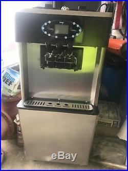 2 Flavor Twist Hommy Commercial Soft Serve Ice Cream machine Frozen Yougurt