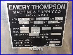 2 Ice Cream Machines & Compressor Emerson