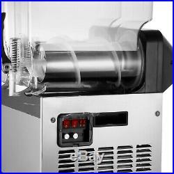 2 x 15L Slushy Machine Slush Making Machine Frozen Drink Smoothie Ice Maker