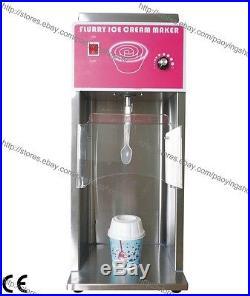 3600rpm Commercial Electric Flurry Ice Cream Machine Maker Mixer Shaker Blender