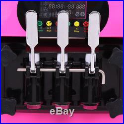 3 Flavor Commercial Frozen Ice Cream Cones Machine Soft Ice Cream Maker 18L/H CE