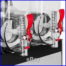 3 Tank Slush Slushy Making Machine 45l Frozen Drink Smoothie Maker 110v Hq