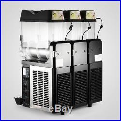 3 Tanks 36L Commercial Frozen Drink Slush Slushy Machine Margarita Slurpee