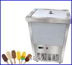 40pcs/set Commercial Ice Cream Stick Ice Lolly Machine Popsicle Maker 220V