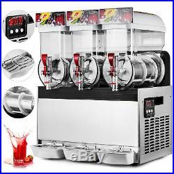 45L Commercial Tank Frozen Drink Slush Slushy Making Machine Smoothie Ice Maker